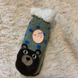 Le Gale Cozy Critters Fuzzy Socks